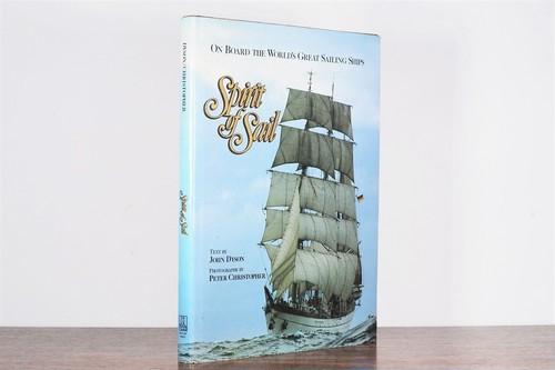 【VA195】Sprit of Sail on Board the World's Great Sailing ships /visual book