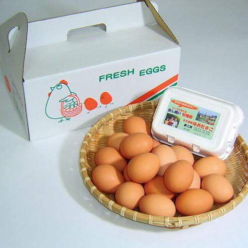 【和歌山】紀州・生石高原〈夢工房〉 有機卵「夢たまご」(ハ)50個入り