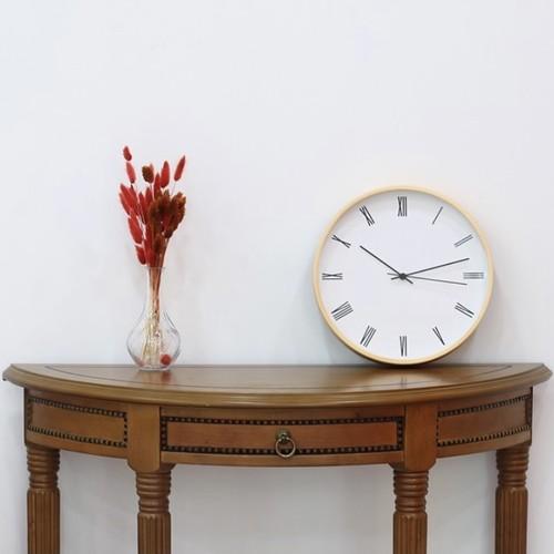 classic wood wall clock / クラシック ウッド ウォールクロック 壁掛け時計 韓国 インテリア 雑貨