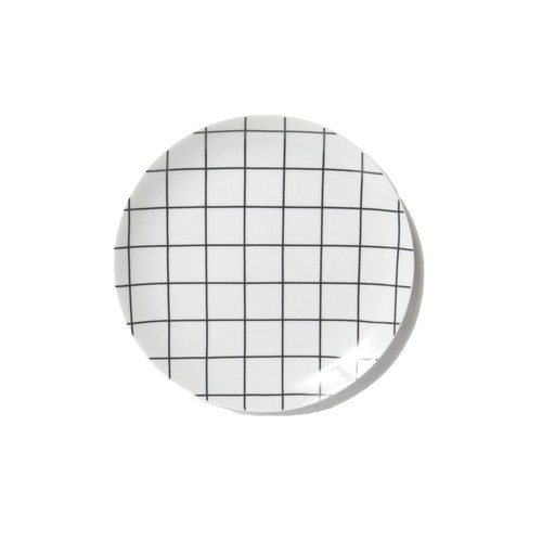 "Swimsuit Department ""Grid"" Dinner Plate"