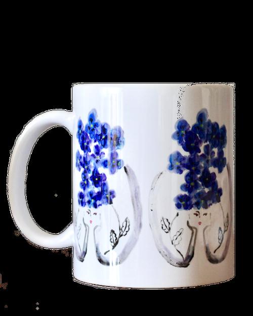 Violette すみれ Mug