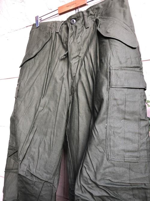 Deadstock American M-65 trousers