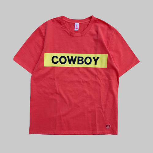 COWBOY S/S T-shirt  -RED-