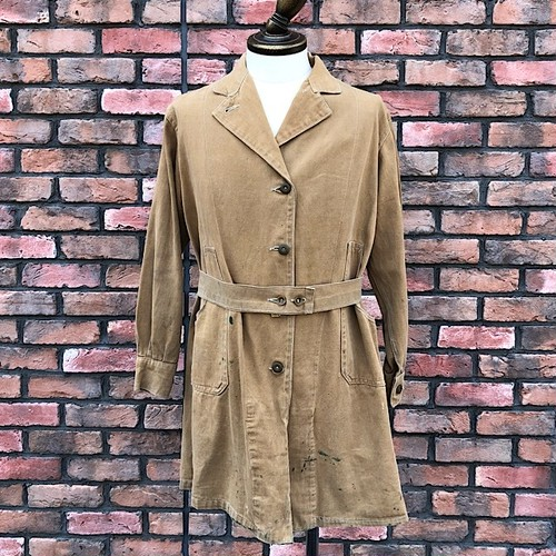 WW2 1948 pattern British Land Army Drill Overalls Coat