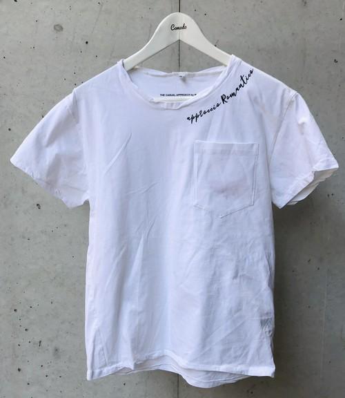 MAGLIA(マリア) T-2306 Tシャツ クルネック ホワイト