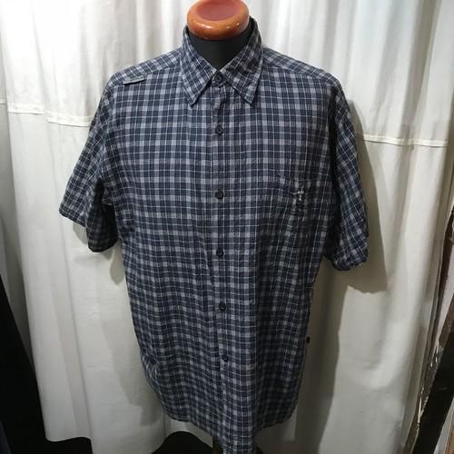 DOGTOWN 半袖チェックシャツ メンズL~XL