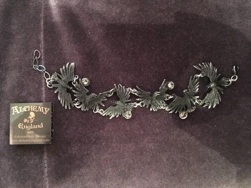 Alchemy Flocking Ravens Bracelet