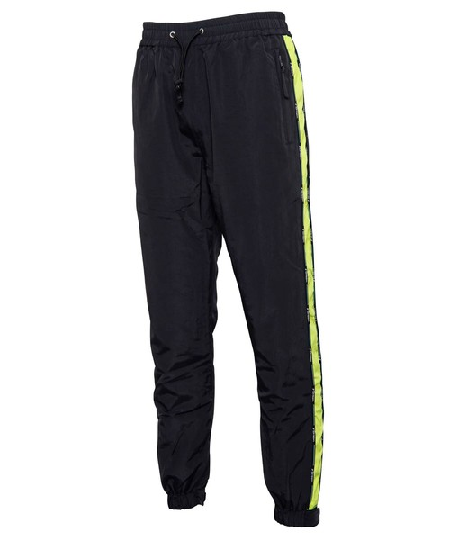 NYLON SLIM LINE JOG PANTS[REP083]