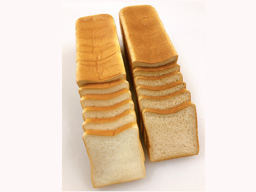 上食パン1本・全粒粉1本の2本セット(送料税込み)