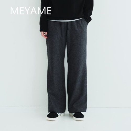 MEYAME/メヤメ・Wool Relax Pants