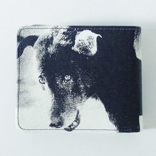 MD-G-001_Print Leather Wallet feat.森山大道_Dog