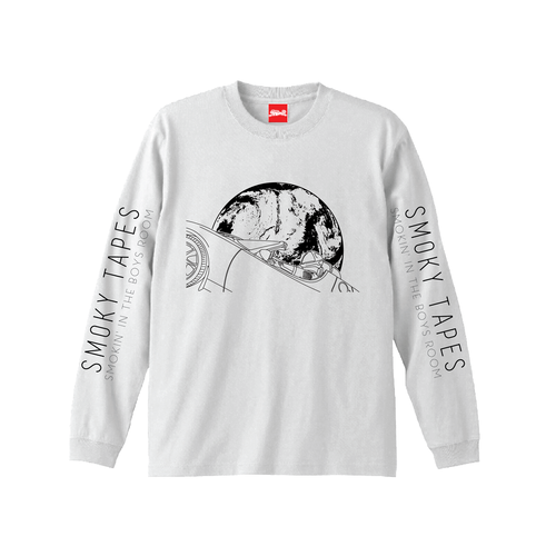 WasHere x SMOKIN' IN THE BOYS ROOM/SMOKY TAPES VOL.2 L/S TEE