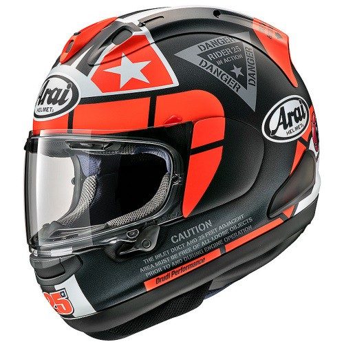 ARAI RX-7X MAVERICK GP2 graphic