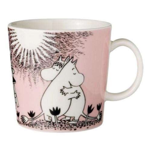 ARABIA Moomin マグカップ300ml ピンク