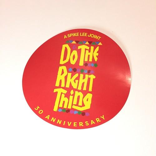 30週年★40 Acres Do The Right Thing 30 Anniversary Sticker