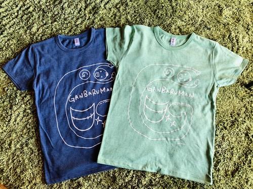 【グッズ 】『GANBALMAN』Tシャツ 青 (手数料、送料込)