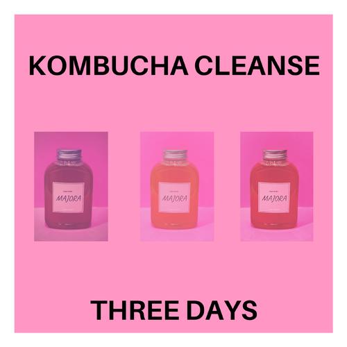 【コンブチャクレンズ】 置き換え3日分