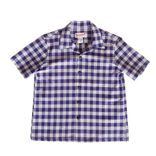 レディース&ボーイズ / オリジナル パラカシャツ / パープル / 残り僅か