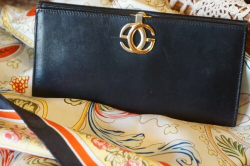 60-70's GUCCI GG buckle Wallet