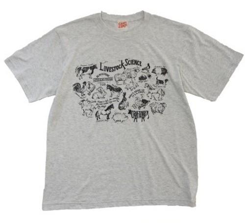 """LIVESTOCK"" T-shirt OATMEAL"