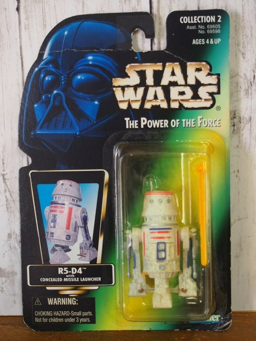 【stock no.01】スターウォーズ R5-D4 フィギュア The Power of the Force Kenner 1996