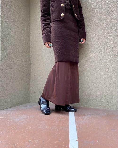 (PAL) design long skirt