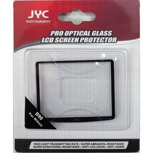 JYC Nikon D90用 強化ガラス製液晶プロテクター