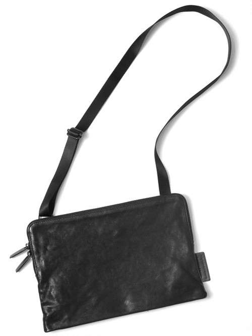 Leather shoulder bag 'pouch' サコッシュ 181ABG03