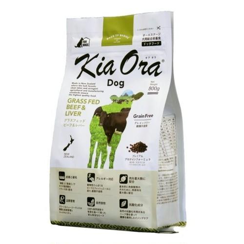 4.5kg KiaOra®DOG グラスフェッドビーフ&レバー
