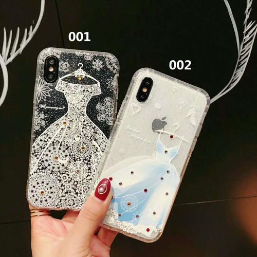 オリジナル 超キレイ 礼服 iPhoneXケース オシャレ アイフォン6sPlus携帯カバー レディース向け  セレブ愛用 アイフォン8/7携帯カバー ゴージャス
