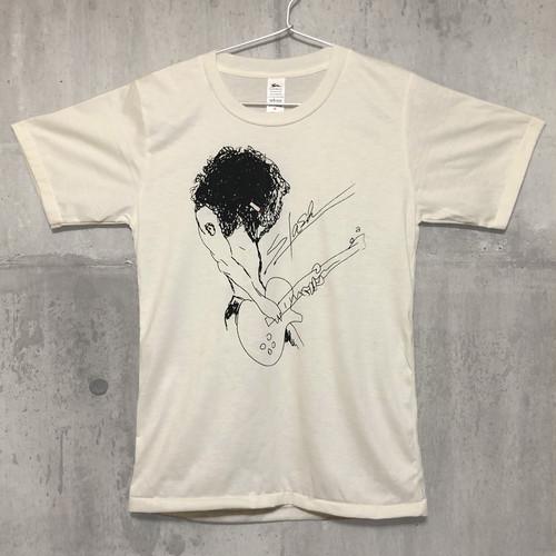【送料無料 / ロック バンド Tシャツ】 GUNS N' ROSES / Slash Illustration Men's Ladies' Unisex T-shirts S ガンズ・アンド・ローゼズ / スラッシュ イラスト メンズ レディース ユニセックス Tシャツ S