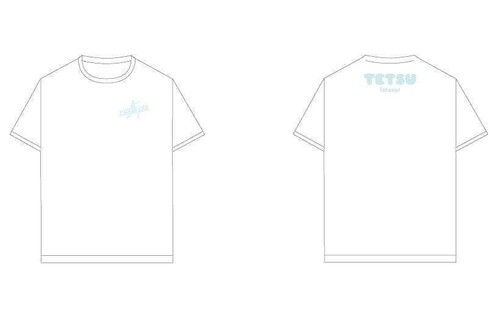 TETSU Forever Tシャツ(白)