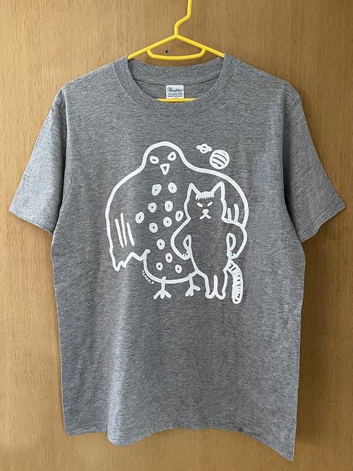 「つぐちゃんとビッグバード」Tシャツ
