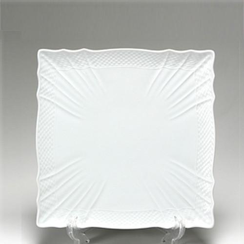 リチャードジノリ(Richard Ginori) ベッキオホワイト スクエアプレート 22×22cm