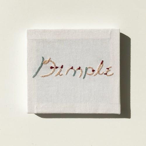 """BOOBS Alphabet /ミニ枠 """" Dimple """""""