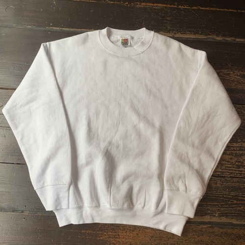 FRUIT OF THE LOOM SWEAT WHIT