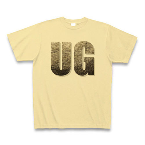 UGウサギ(ネザーランドドワーフ)TシャツB(もふもふ)