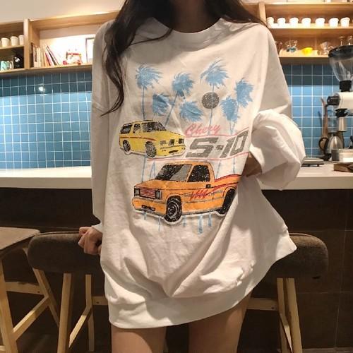 プリントルーズシャツ 2670