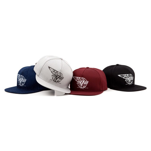 DQM BIG FLATS FIVE PANEL SNAPBACK CAP
