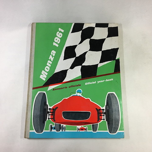 MONZA 1961~1965 OFFICIAL YEAR BOOK ANNUARIO UFFICiALE WOLFGANG VON TRIP PHIL HILL 【5冊セット】【税込価格】