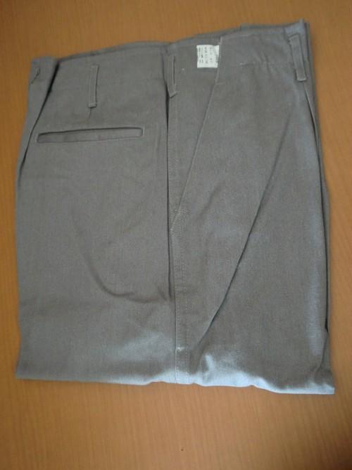 在庫限り アラミド40%防炎 作業服 パンツ FR-TW8 グレー