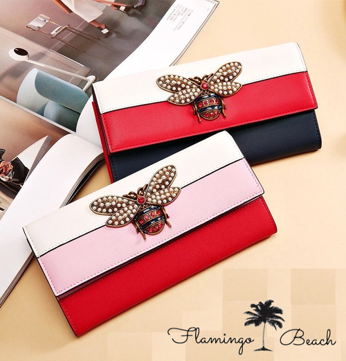 【FlamingoBeach】bee Wallet