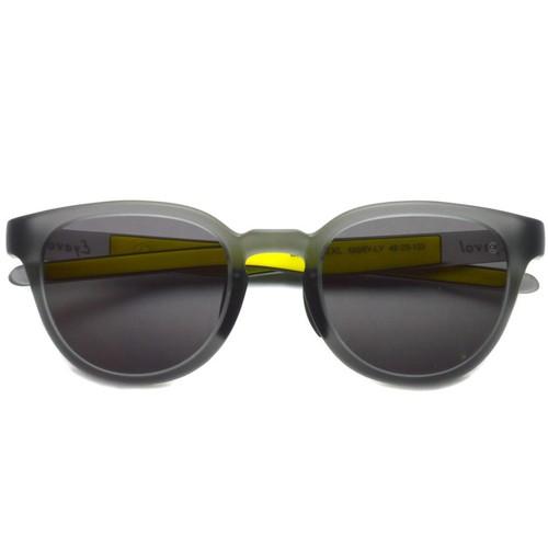EYEVOL アイヴォル / LEIFER 2 XL / MGRY-LY-GRAY lenses マットクリアグレー-イエロー-ダークグレーレンズ  スポーツサングラス