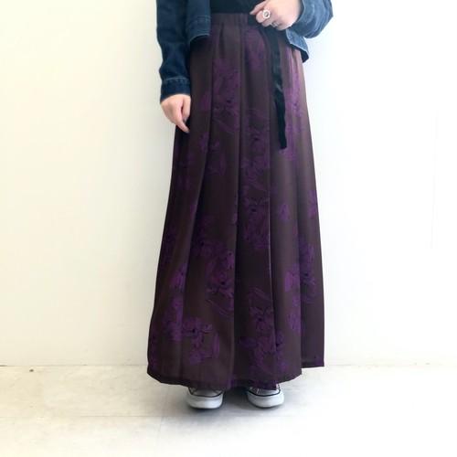 【 Days 】- 129-3780 - フラワーデザインスカート