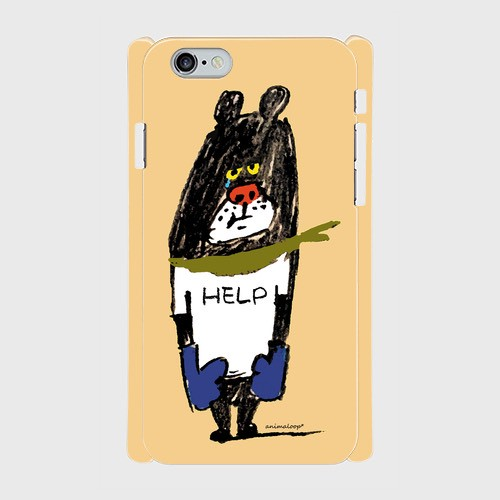 SOLD OUT! クマボクサー 側表面印刷スマホケース iPhone6/6s