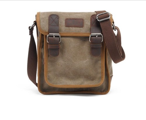 Canvas Shoulder Bag Vintage Messenger Bag ショルダーバッグ メッセンジャーバッグ ビンテージ (YYB99-1511606)