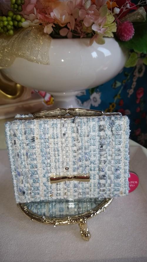ミックスツイードミニ財布