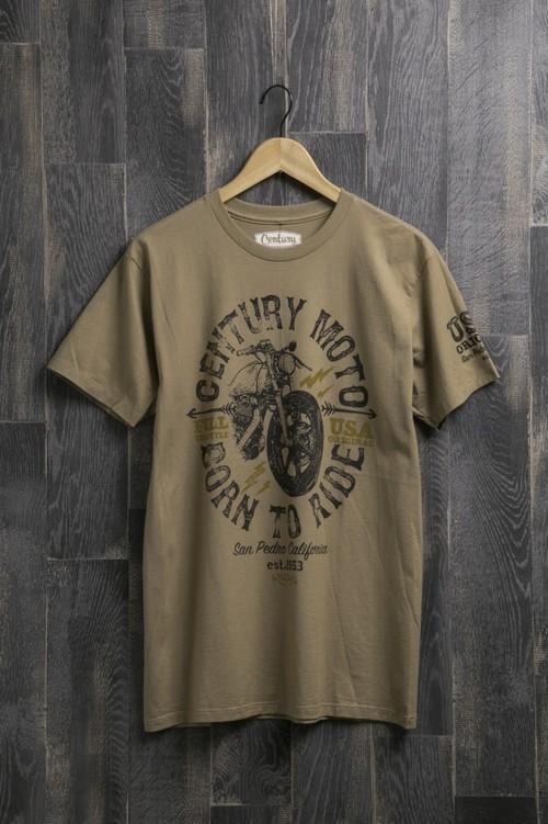 センチュリーモーターズ バイ ボンダッチ Tシャツ C/N SS T-SHIRT コットン ショートスリーブ Tシャツ century 12 PUDDY メンズ CENTURY MOTORS BY VONDUTCH