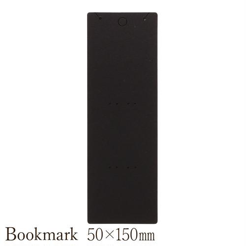 アクセサリー台紙 縦長ロング  ネックレス  かんざし用 黒  OPP袋付き 50×150mm 30枚 D090