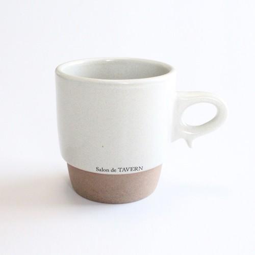 Salon de TAVERN x aiyu KIRITORU Mug -Ivory